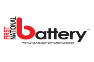 First National Battery Logo